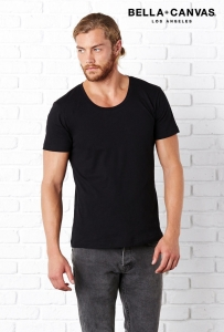 Męski t-shirt Wide Neck