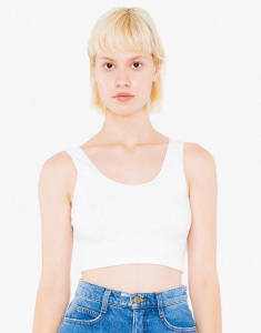 Damski Sleeveless Crop Top